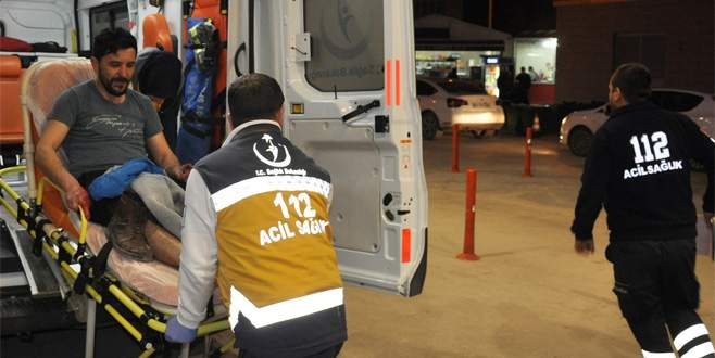 Bursa'da pompalı tüfekle yayalara ateş ettiler