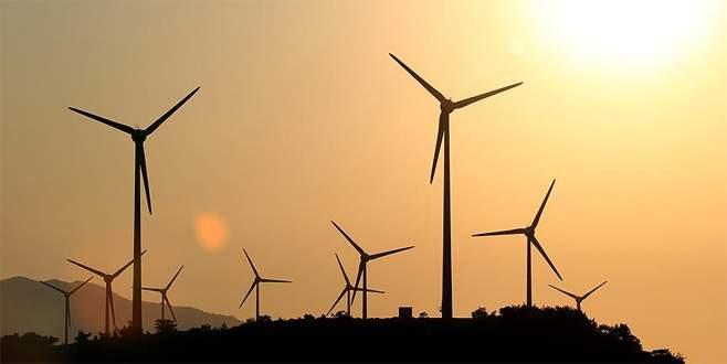 Eneji üretiminin yüzde 41'i rüzgardan