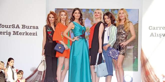 Bursa'da güzeller geçidi