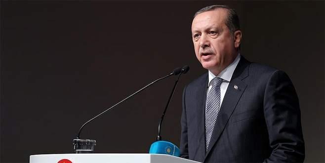 Erdoğan'dan Polis Teşkilatı'na kutlama mesajı