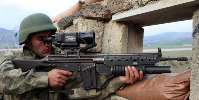 Hudut birlikleri Afrin sınırında kuş uçurtmuyor
