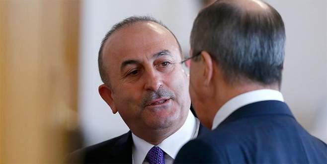 Çavuşoğlu ve Lavrov Suriye'yi görüştü