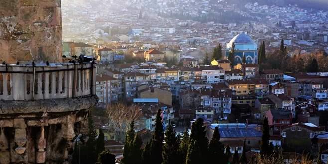 Bursa minarelerinden harika manzaralar