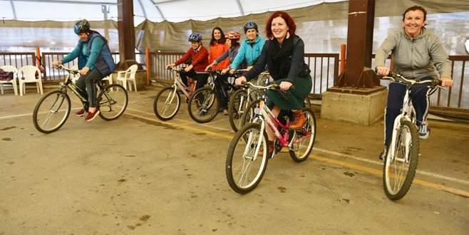 Nilüfer'de bisiklet seferberliği