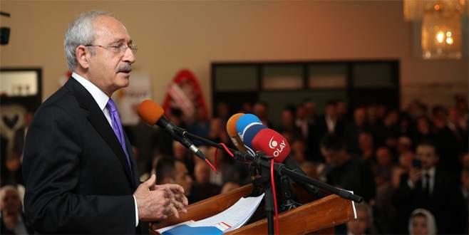 Kılıçdaroğlu: AK Parti'nin gündemi Kılıçdaroğlu