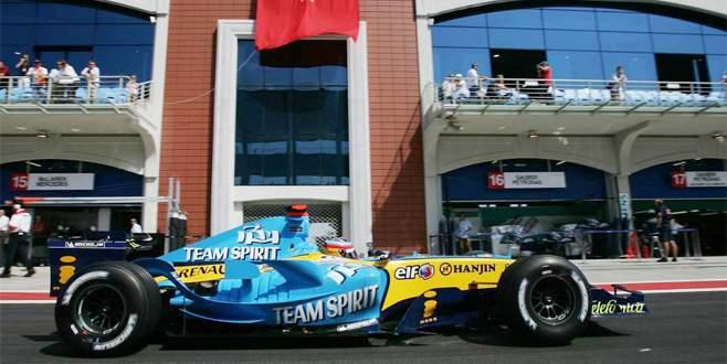 Formula 1 için hazırız