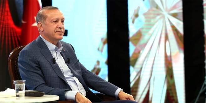 Cumhurbaşkanı Erdoğan bu akşam OLAY TV'de