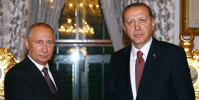 Erdoğan ve Putin 'Suriye' konusunu görüştü