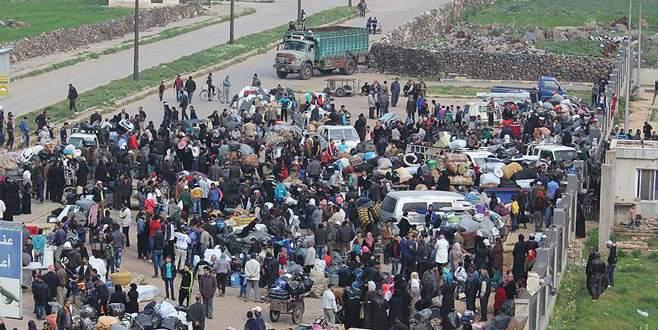 Madaya ve Zebadani'den 2 bin 350 kişi tahliye edildi