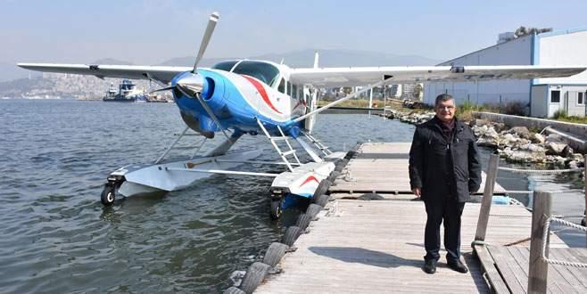 Burulaş'tan İzmir'e de deniz uçağı seferi