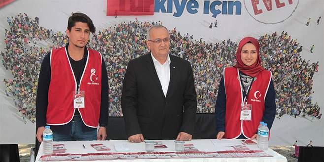 CHP'nin büyükşehir adayı 'evet' diyor