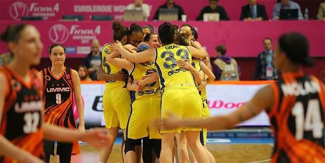 Fenerbahçe FIBA Avrupa Ligi'nde finale yükseldi