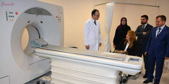 İznik Devlet Hastanesi'ne tomografi cihazı