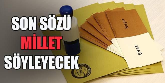 Türkiye yarın sandık başına gidiyor!