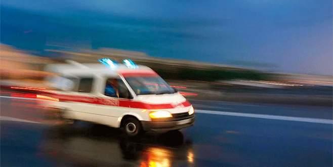 Jandarma karakolunda yangın: 14 asker hastaneye kaldırıldı