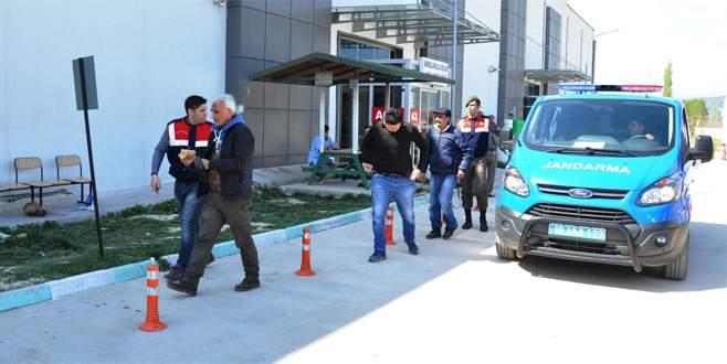 Bursa'da 10 defineci suçüstü yakalandı