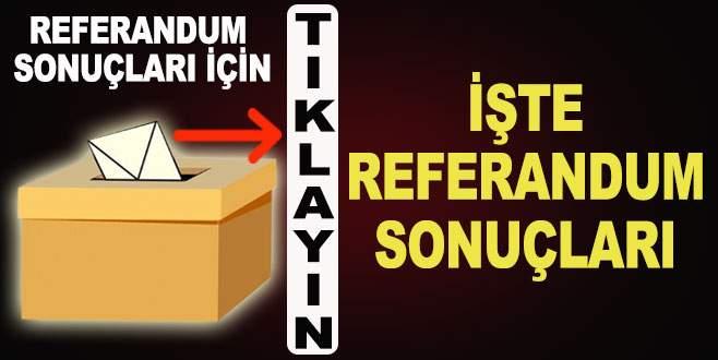 Referandum 2017 sonuçları için tıklayın!
