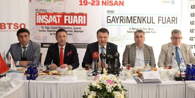 Ticari safari ile 300 yatırımcı Bursa'ya geliyor