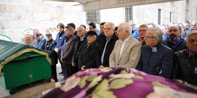 Bursaspor Kurucu üyesi Buzcular son yolculuğuna uğurlandı