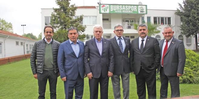 Bursaspor'un kurtuluşu Vakıfköy'de