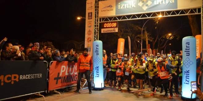 140 kilometrelik İznik Ultra Maratonu start aldı