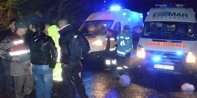 Cenaze dönüşü kaza: 6 ölü, 20 yaralı