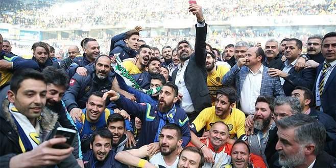MKE Ankaragücü şampiyonluğunu ilan etti