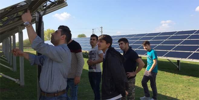 Almanya ve Polonya'da enerji sistemlerini incelediler