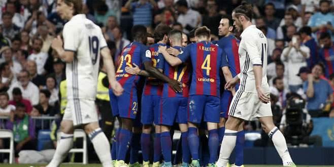 Barcelona, Bernabeu'dan lider döndü