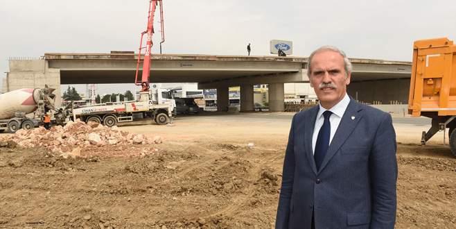 Bursa'da merkez trafiği yüklerinden arınıyor