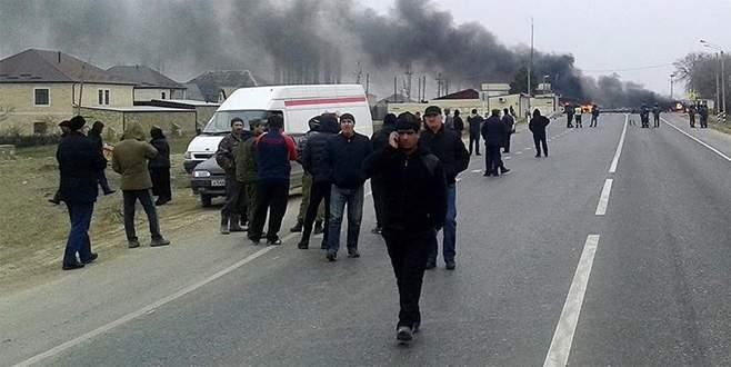 Dağıstan'da okulda patlama