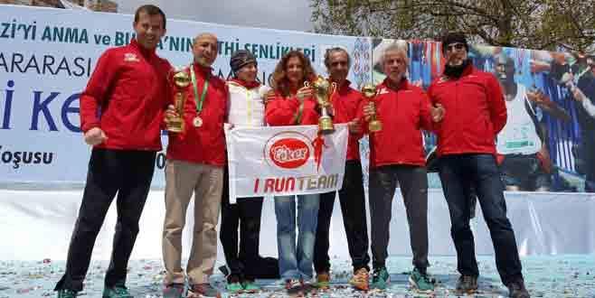 Eker I Run Team, Bursa'da madalyaları topladı