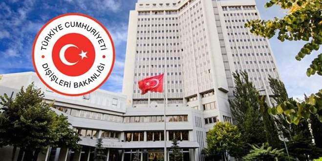 Dışişleri Bakanlığı: Bu haksız kararı şiddetle kınıyoruz