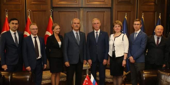 Rusya'dan Bursa'ya iş birliği çağrısı