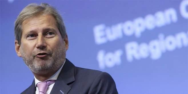 Hahn: Türkiye ile şu anki durum sürdürülebilir değil