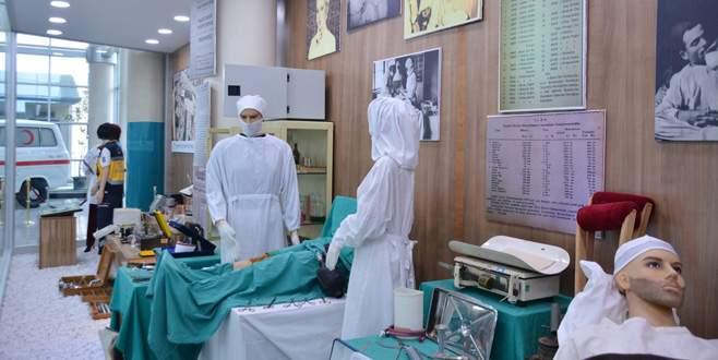 Hastane müzesi zaman yolcuğuna çıkarıyor