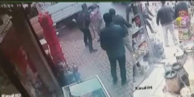 Bursa'da cinayet anı kameralara böyle yansıdı