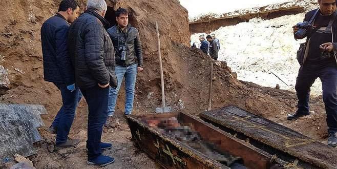 İnşaat kazısında Rus subayının çürümemiş cesedi bulundu
