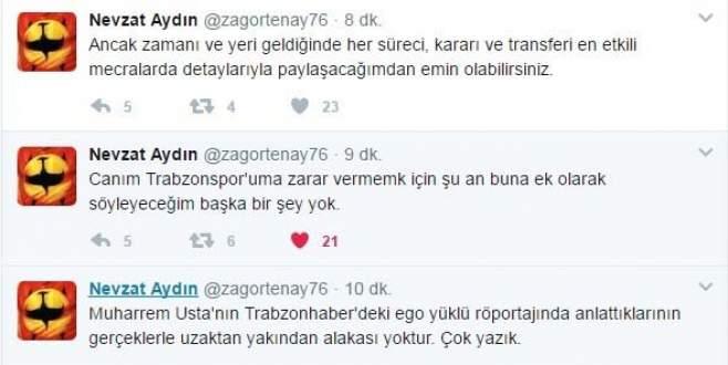 Trabzonspor yönetiminde kriz