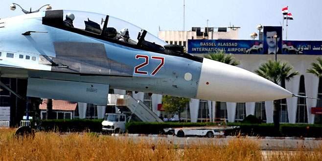Rusya uçaklarının yarısını çekti