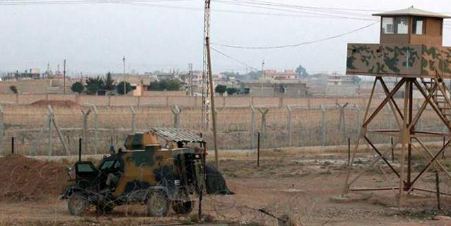 Sınır karakoluna roketatarlı saldırı