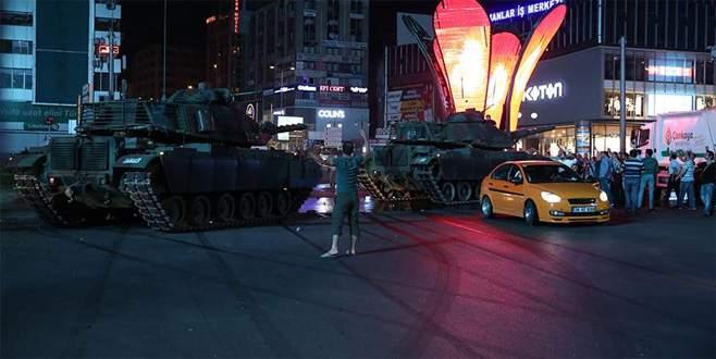 Darbeciler saldırı planında Ankara'yı üçe bölmüş