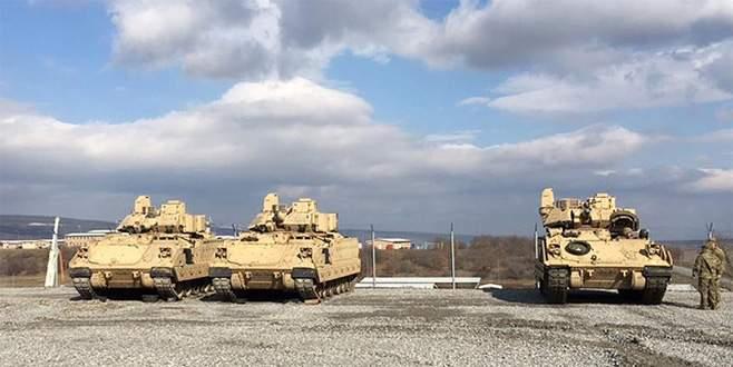 ABD'den 'Suriye sınırındaki zırhlı Amerikan araçları' açıklaması
