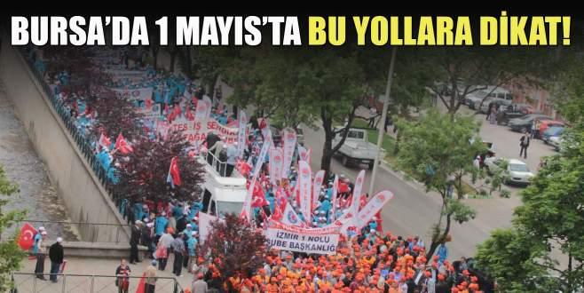 Bursa'da 1 Mayıs'ta bu yollara dikkat!