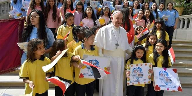 Papa'dan birlik mesajı
