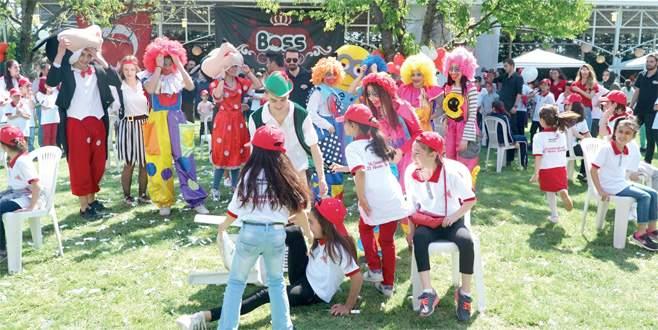 Çevreci çocuklar 23 Nisan Şenliği'nde buluştu