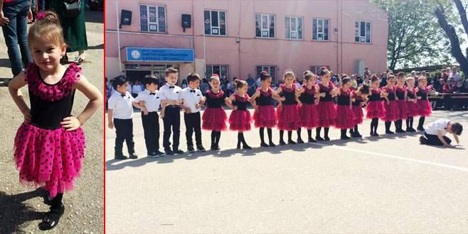 Anasınıfı öğrencilerinden renkli 23 nisan kutlaması