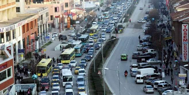 Meydancık-Gökdere Meydanı 11 saat trafiğe kapalı