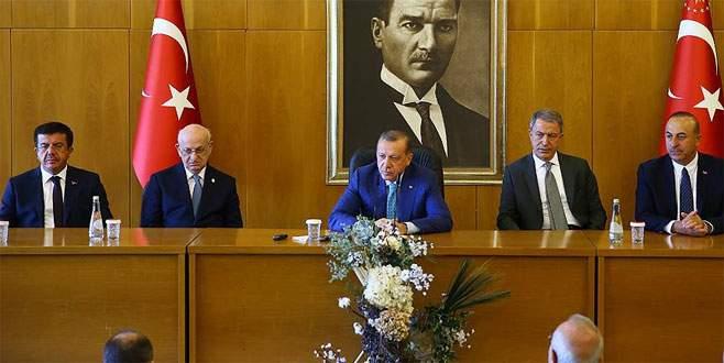 Erdoğan: 'Biz endişeyle yaşamaktansa onlar korkuyla yaşasınlar'