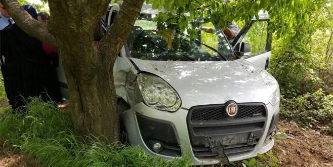 Bursa'da piknik yolunda kaza: 1 ölü, 3 yaralı